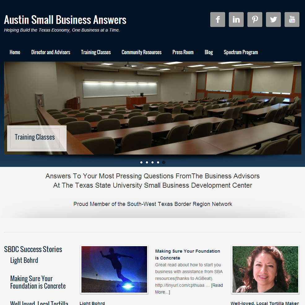 Austin Small Business Answers Website By Ipg Search Marketing