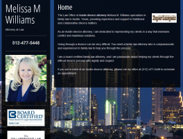 Melissa M. Williams, Austin Divorce Attorney